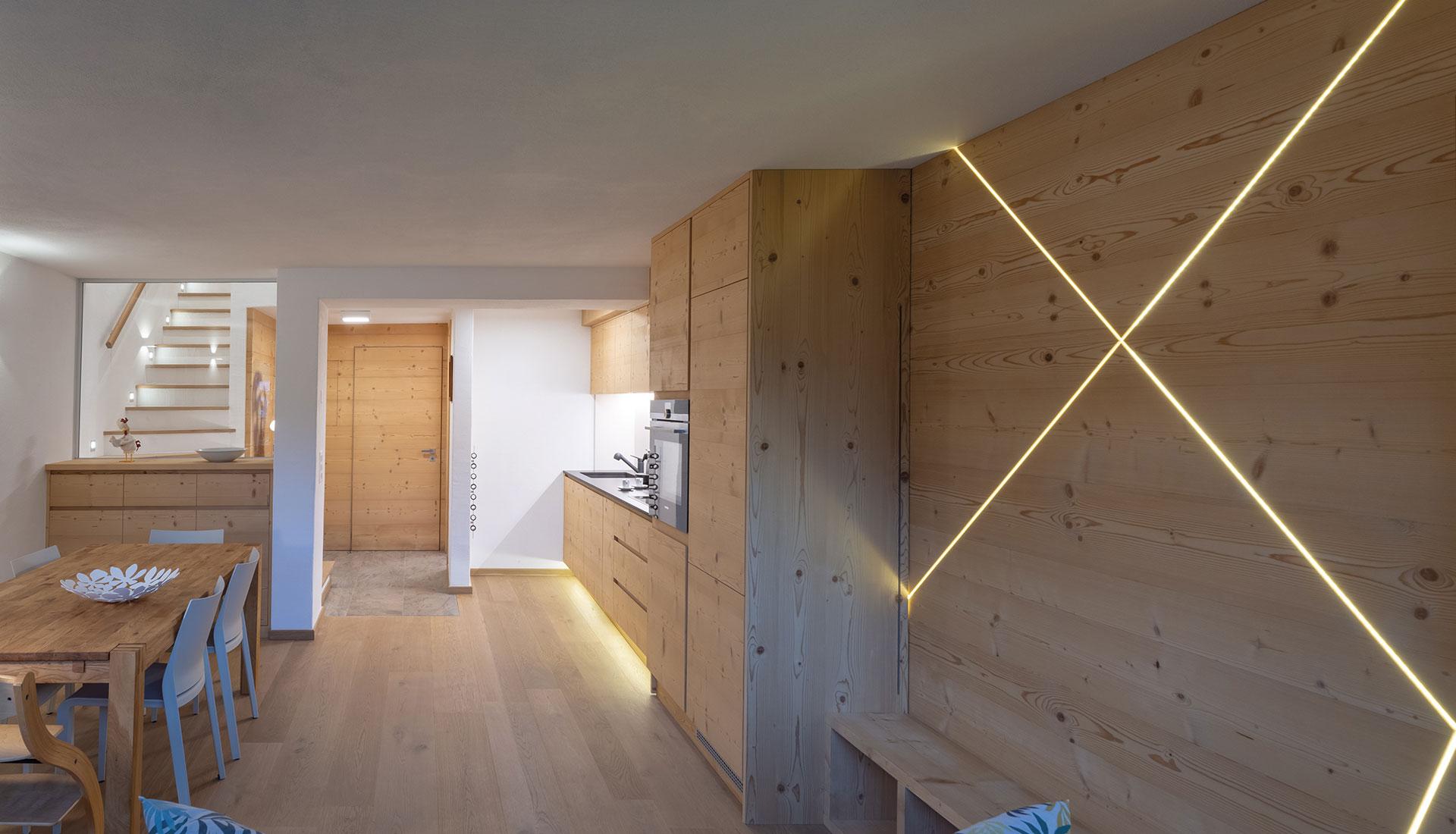 Appartamento privato zona cucina